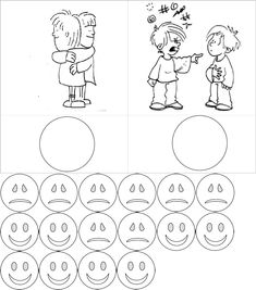 Emotionen - Arbeitsmaterial - Elegir Accion Buena - Mala Visual Learning, Kids Learning, Sensory Activities Toddlers, Educational Crafts, Classroom Rules, Emotional Development, Social Stories, Exercise For Kids, School Counseling