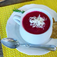 Beet, Apple, Carrot, and Ginger Soup — Just Beet It