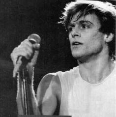 on a tour, 1984...