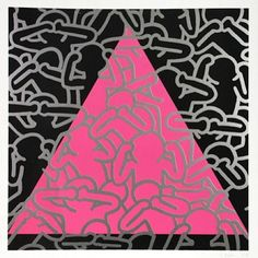 """""""In 1989 #KeithHaring established the #KeithHaringFoundation to provide funding and #imagery to #AIDS organizations and #children's programs, and to expand the audience for Haring's work through exhibitions, publications and licensing."""" 