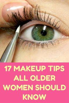 17 Makeup Tips All Older Women Should Know. #beautytipsformakeup