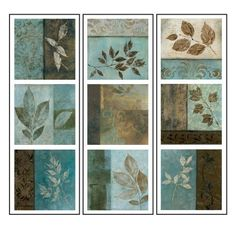 Lot 26 Studio ADD-HERES Leaf Impressions Wall Stickers,  8 x 24-Inches by Lot 26 Studio, Inc, http://www.amazon.com/dp/B003BO0SQI/ref=cm_sw_r_pi_dp_fu38qb1E0A5F4