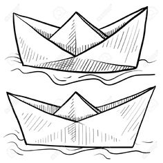 http://previews.123rf.com/images/lhfgraphics/lhfgraphics1207/lhfgraphics120700115/14559458-Doodle-style-origami-folded-paper-boat-floating-on-water-in-vector--Stock-Photo.jpg