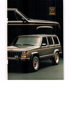 1987 Jeep Cherokee Limited ad2 - National Geographic August 1987