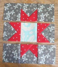 This is probably the most basic star block. But it is a classic favorite that looks good in any fabric, and is easy to re-size to make smaller or larger. You can see my full quilt top here…