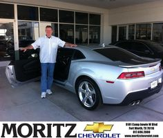 I had a most pleasurable experience with the entire staff and it was well worth the trip from Albuquerque,NM to Ft Worth,TX to make my purchase. I highly recommend Moritz to anyone interested in a new car purchase. great job! Great folks to deal with! - Clement,Saturday, October 25, 2014  http://www.moritzchevrolet.com/?utm_source=Flickr&utm_medium=DMaxxPhoto&utm_campaign=DeliveryMaxx
