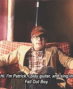 patrick stump soul punk | ... gif fob fall out boy Patrick Stump transparent gif Soul Punk mine:fob
