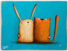 !!! NEWS - cat&rabbit on Behance