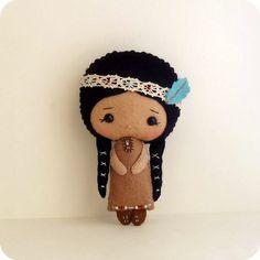 native american girl by Gingermelon, via Flickr