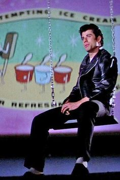 """GREASE"" = Movie (1978): At the Drive-in"