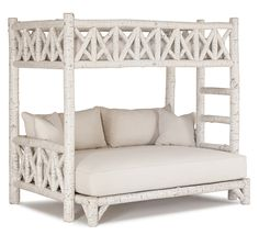 La Lune Salutes the 2016 Color of the Year: Simply White! (La Lune Collection Bunk Bed #4254)