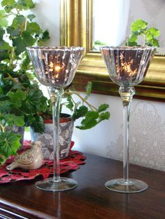 Glamour candle holders