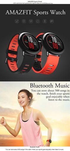 Xiaomi Huami AMAZFIT Pace Sports Smart Watch - Black (English Version) - Free Shipping - DealExtreme