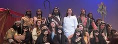 Image result for joseph and the amazing technicolor dreamcoat narrator costume