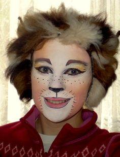 Cat face painting fantasy makeup - maquillaje fantasia gato pintacaritas ♛