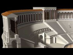 Ancient Rome: Theatre of Pompey HD  Visit the Pompey Project and learn more about the history of the theatre and it's past and present archaeology at;  http://www.pompey.cch.kcl.ac.uk/