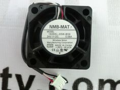 New NMB-MAT 1606KL-05W-B59 Cooling Fan 24V DC 40x40x15mm With Connector #nmb