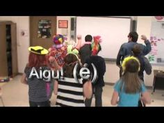 Learn the names and formation of the accent marks in French with this great disco groove! Created by GL 7th Grade French 2013! (Music royalty free from Sound...