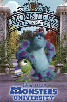 Disney Monsters, Monsters Inc, Disney Pixar, Poster Wall, Poster Prints, Art Prints, Mike And Sulley, Monster University, New Movies