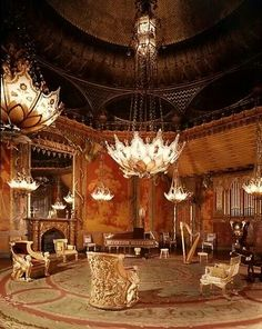 The music room, Brighton Pavillion...WOW