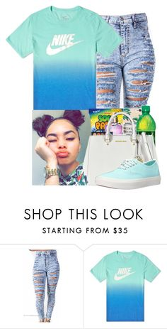 """""""Untitled #643"""" by diamondfoster919 ❤ liked on Polyvore featuring NIKE and Vans"""