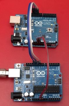 Arduino SPI master and slave