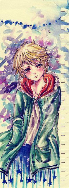 Yukine (watercolor doodle) by heriumu-kaji on DeviantArt