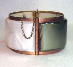Vintage bracelet. Very cool.