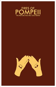 S4, E2: fires of pompeii; click to see all the awesome minimalist art for different episodes