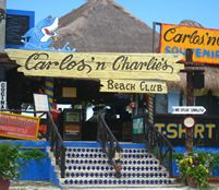 Cozumel! This place was crazy fun. Pre-my new life… they shot alcohol out of a big giant drum into our mouths! Weird!