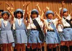 Brownie Girl Scouts from Japan #Thinking Day