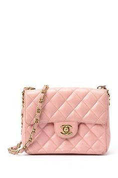 Vintage Chanel Leather Matelasse Single Chain Mini Shoulder Bag