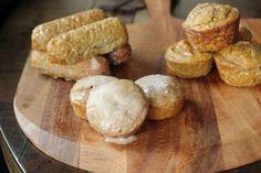 Chai Donuts with Glaze (S)