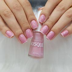 Summer Gel Nails, Cute Spring Nails, Short Gel Nails, Shellac Nail Designs, Shellac Nails, Nail Art Designs, Nail Polish, Pink Nail Art, Pink Nails