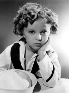 Shirley Temple. What a gift this beautiful child gave us. I used to love to watch her movies!