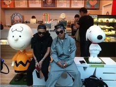 Taeyang and G-Dragon from Big Bang