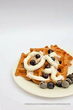 HOMEMADE BLUEBERRY WAFFLES #foodphotography #food #waffles #kimignaciophotographs Blueberry Waffles, Shots, Homemade, Drinks, Eat, Breakfast, Food, Drinking, Morning Coffee