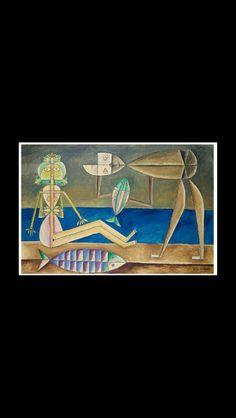 Victor Brauner, Fantastic Art, Cubism, Contemporary Artists, Golden Age, Painters, Surrealism, French, Paris