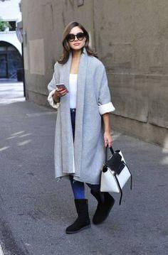 Shopping : Olivia Culpo, son look automnal et idéal pour le week-end