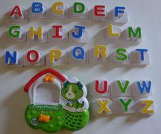 LeapFrog SCOUT DOG Fridge Phonics Magnetic Alphabet #school ABC Pieces Leap Frog Letters #LeapFrog