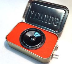Altoid Amp! I have one of these - an external speaker for my ipod. I got it on etsy. It works great.