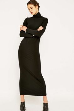 Kamali Kulture Go Turtleneck Maxi Dress