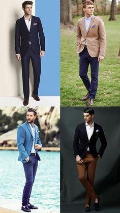 Men's Groomsmen Outfit Inspiration Lookbook - Smart-Casual Wedding