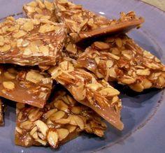 Spiced Almond Brittle