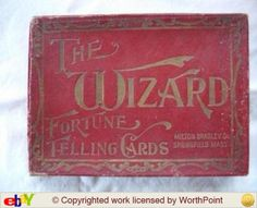 Rare The Wizard Fortune Telling 1908 sold for $142