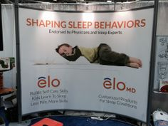 The elo shapes sleep behaviors of children. Making bedtime a pleasant routine, rather than a battle.