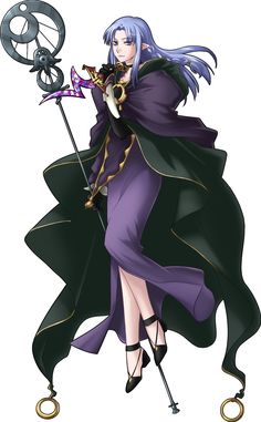 Caster Fate/Stay Night.