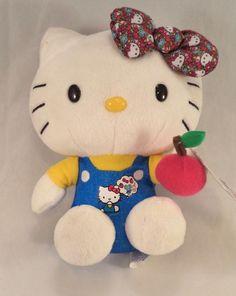 "Collectible Hello Kitty Sanrio Plush Stuffed Animal Figure Toy 6"" Boys Girls"