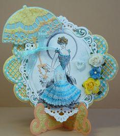 Janny's Cards Cute Cards, Diy Cards, Marianne Design Cards, Handmade Card Making, Shaped Cards, Beautiful Handmade Cards, Die Cut Cards, Mothers Day Cards, Felt Crafts
