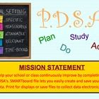 This SMARTboard file will help you organize your PDSA (plan, do, study, act) so you can keep your records updated. Complete with your class, update...